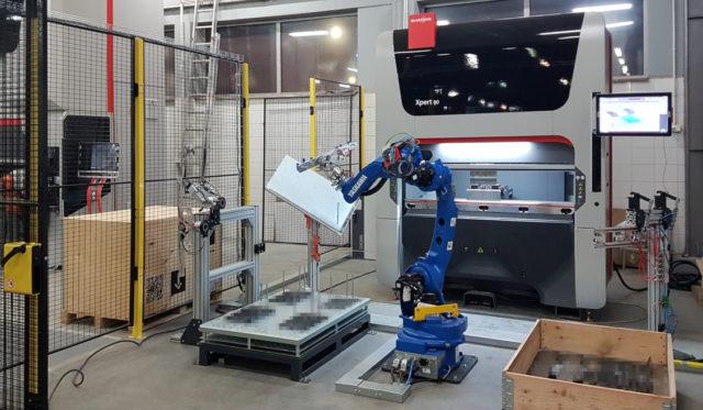 bystronic robotyzacja prasa stertech