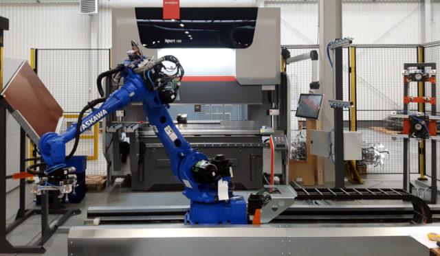 robotyzacja pras krawędziowych